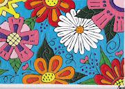 flores da primavera. Postado por May arte Naif às 07:17