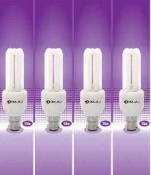 PayTM  : Buy Bajaj Ecolux 15 W CFL Bulbs (Set Of 4) at Rs. 321 after cashback