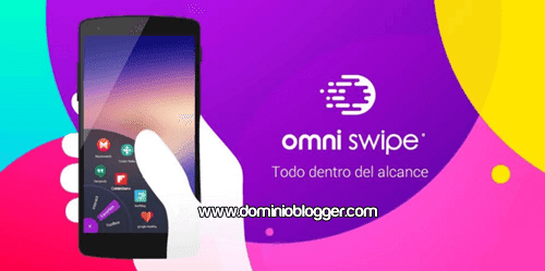 Organiza el inicio en tu telefono con Omni Swipe