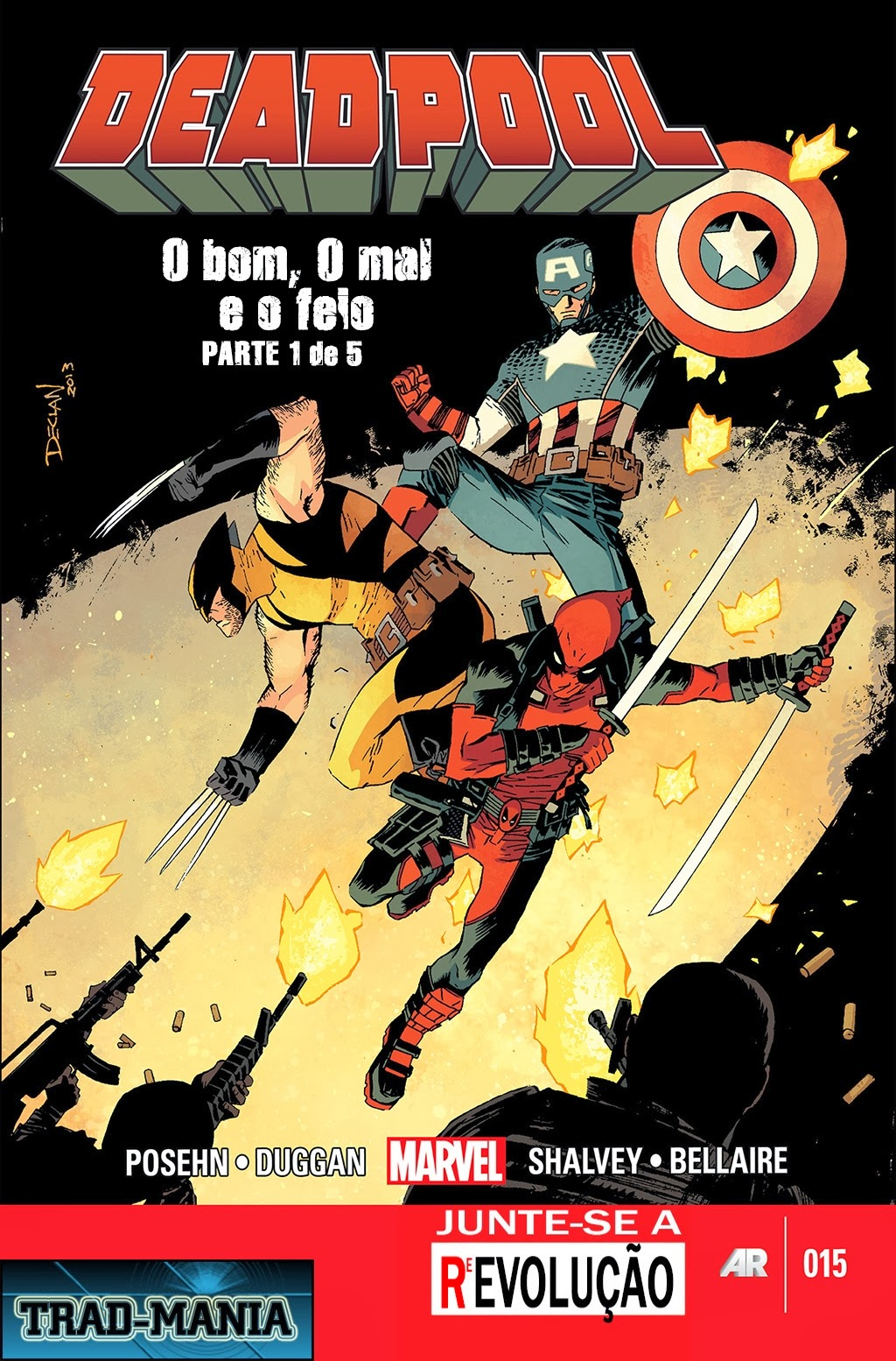 Nova Marvel! Deadpool v5 #15