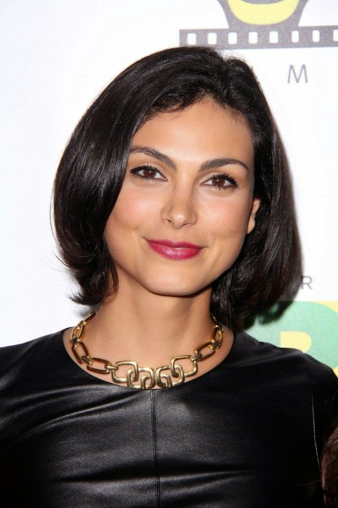 Brazilian women are famously particularly fond of wearing nice lingerie, and Morena Baccarin decided to showcase hers on Friday, November 21, 2014. The 35-year-old wore a dark leather short dress which exposed her perfect anatomy and long legs. A sight for our eyes! The actress was attending the 6th annual Hollywood Brazilian Film Festival at Los Angeles, CA, USA.
