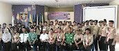 Pemberangkatan Kontingen Pramuka Ma'arif Lampung