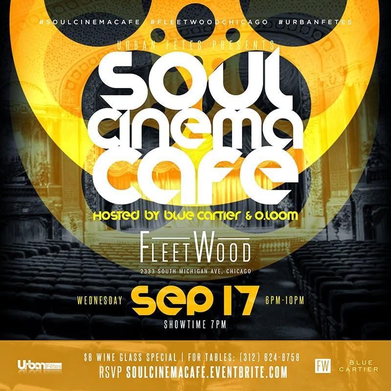 #Soul Cinema Cafe Sept 17