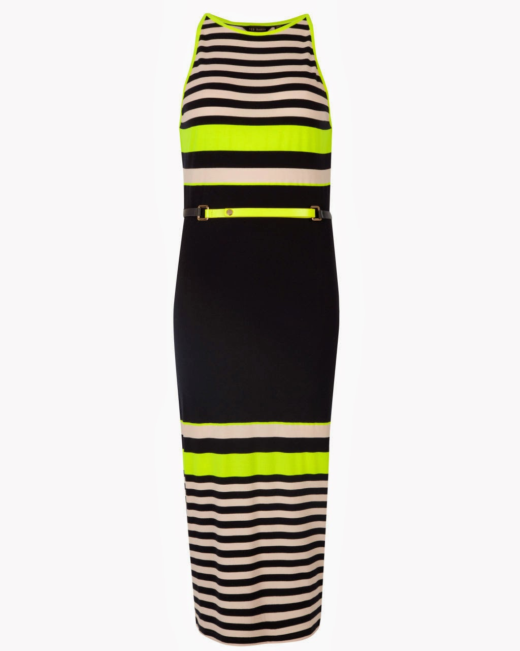 ted baker neon dress