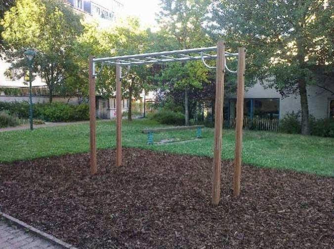 Klettergerüst Calisthenics : Street workout calisthenics wien willi frank park
