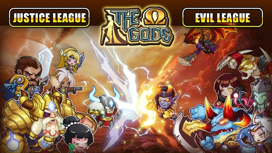 The Gods Omega Gameplay Android