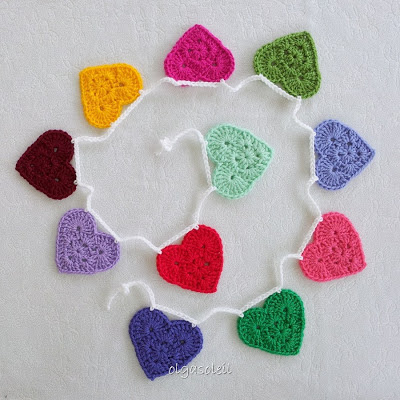 Granny Heart Bunting 6