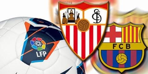 Sevilla vs Barcelona La Liga Spanyol 2015