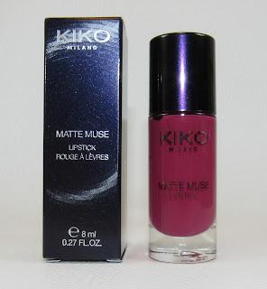 KIKO Matte Muse Lipstick 05 Haughty Mauve