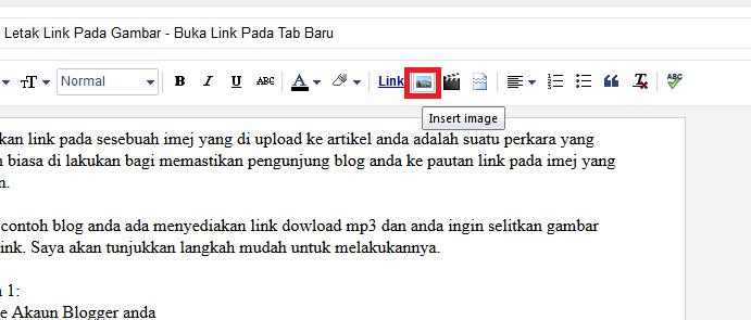 Letak Link Pada Gambar - Buka Link Pada Tab Baru