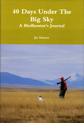 40 Days Under The Big Sky: A Birdhunter&#39;s Journal by Jay Hanson. Signed copies available.