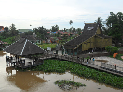 Wasaka Museum Banjarmasin South Kalimantan, waja sampai kaputing