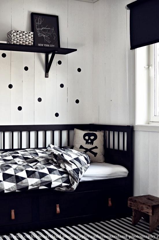insp237rate una habitaci243n infantil en blanco y negro y sus