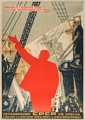 electrificación de la URSS