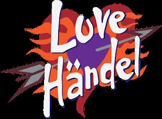 Logo da banda Love Händel, do desenho animado Phineas e Ferb