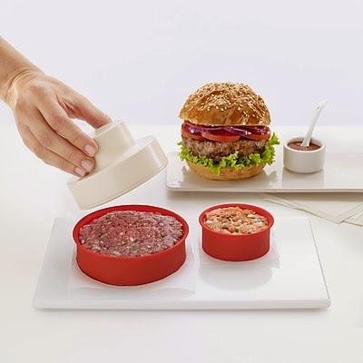 Moldes para hamburguesas