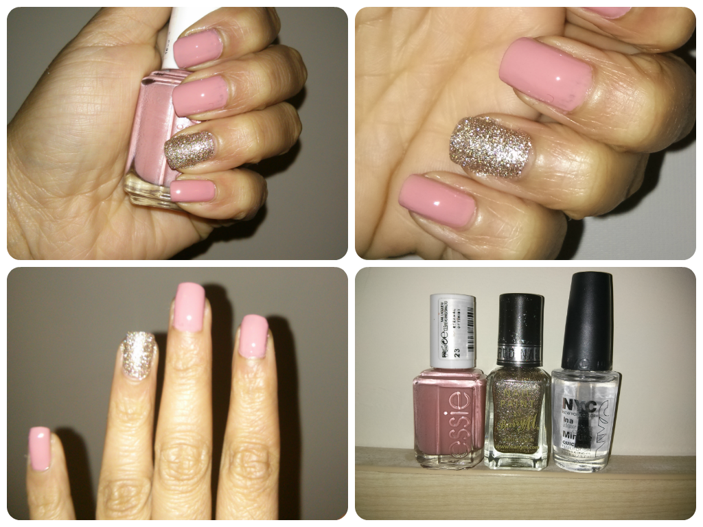 NAILS OF THE WEEK: ESSIE ETERNAL OPTIMIST & BARRY M MAJESTIC / The ...