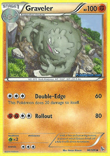 Graveler Flashfire Pokemon Card