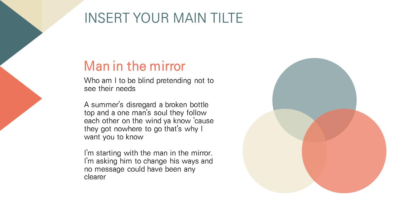 삼각삼각 파워포인 무료 PPT 템플릿 (Free PowerPoint Template