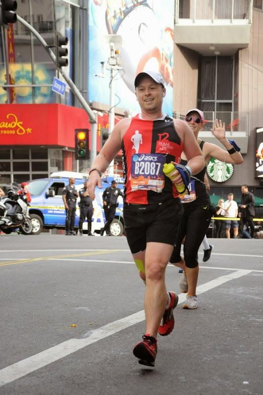 2015 LA Marathon runner