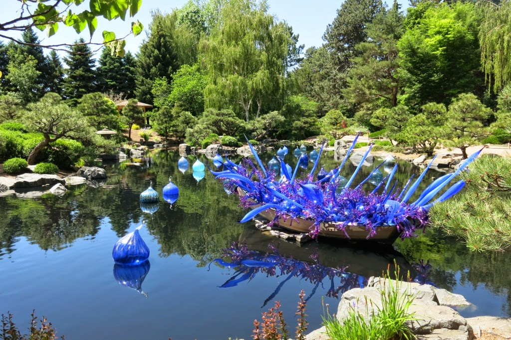 Botanical Illustration Garden Cycle By Chihuly At Denver