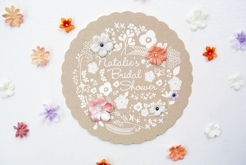 my diy bridal shower invitations