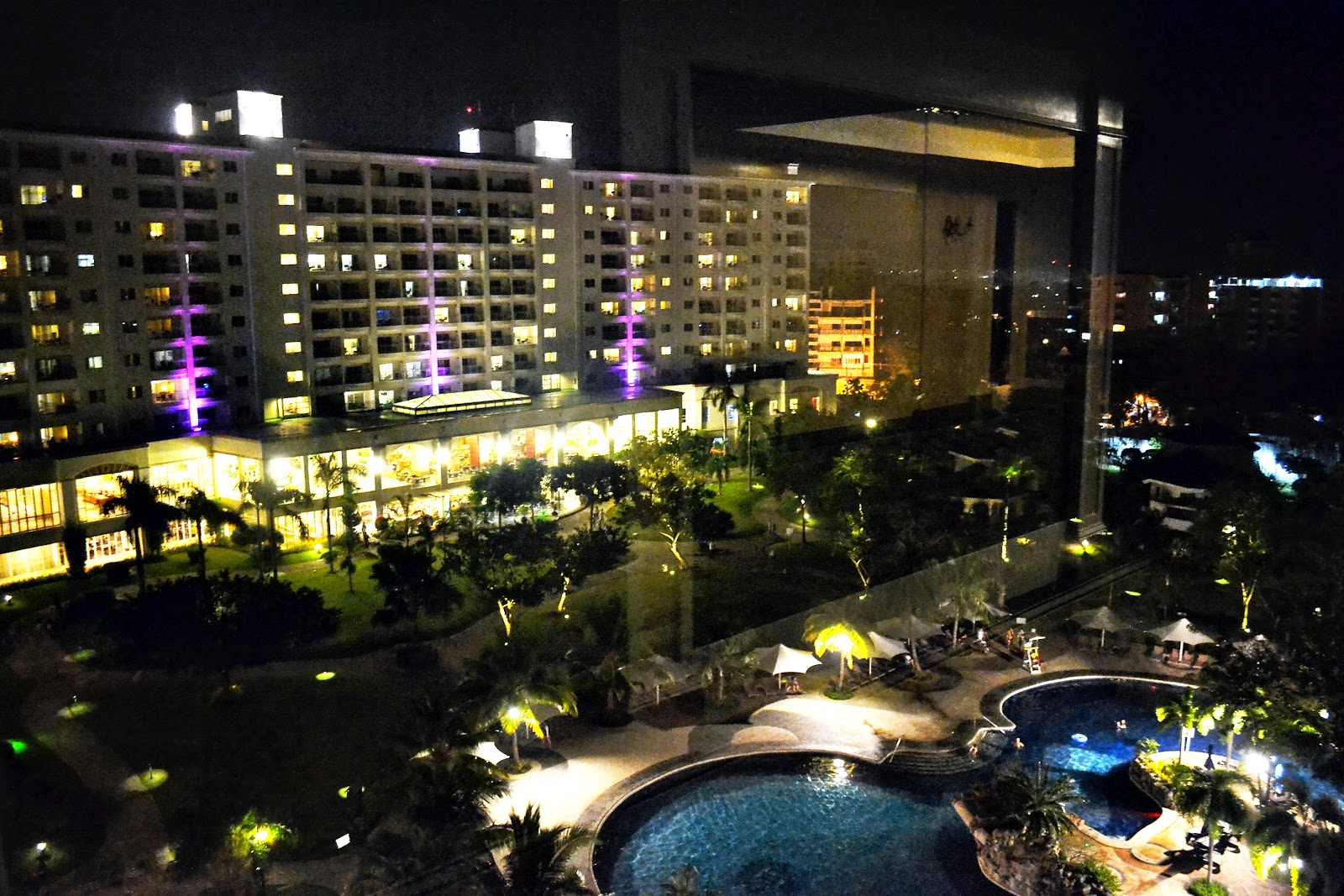 jpark mactan cebu night view