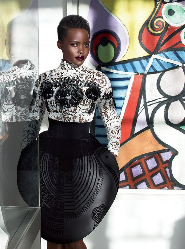 Lupita Nyongo Is Flawless As She Covers on Meet Sultry Simone The Winner Of Best Behind In
