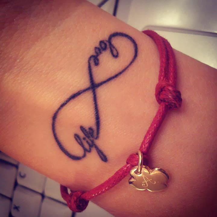 Tattoos Designs Pictures And Ideas Love Life Infinity Symbol