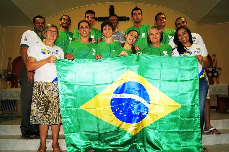 Jovens de Ipupiara celebram 1 ano da Jornada Mundial da Juventude Rio 2013