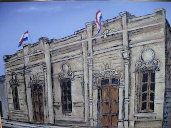 Edificio de la Municipalidad de Caraguatay