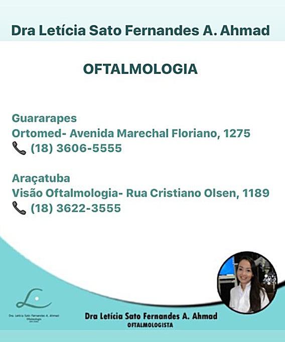 Dra Letícia Sato Fernades A. Ahmad