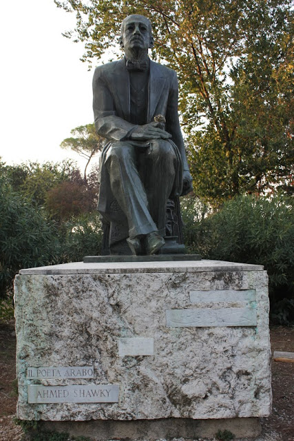 Another statue at Borghese lake in Rome, Italy