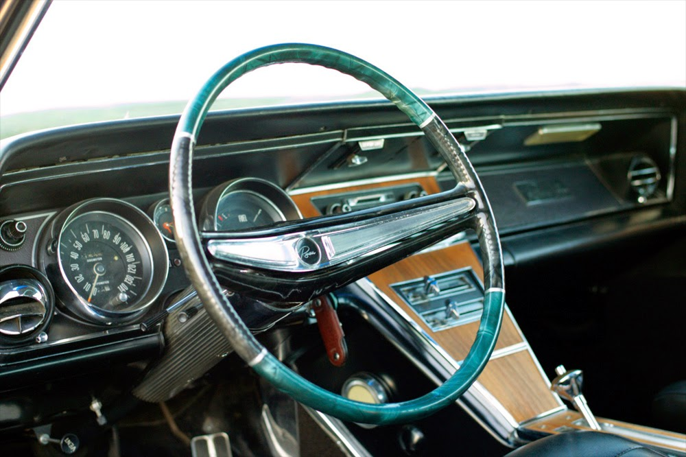 PearlCraft: Buick Riviera 1965 steering wheel
