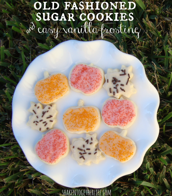 Old Fashioned Sugar Cookies - Shaken Together Life