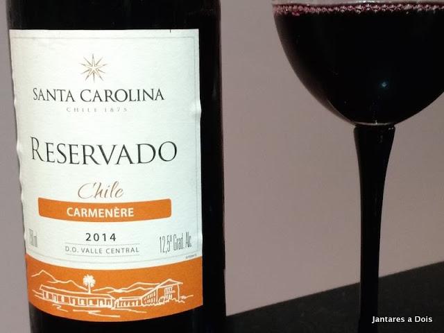 Santa Carolina Carmenere 2014