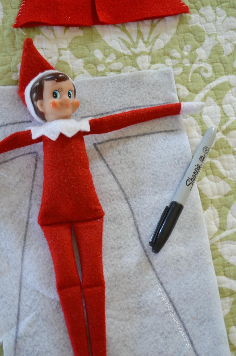 Elf On The Shelf Coat Pattern