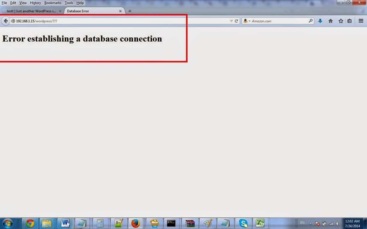 - Serviço não disponível (muitas conexões abertas, mysql_connect(): Muitas conexões em aberto)