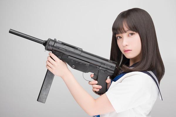 橋本環奈・機関銃