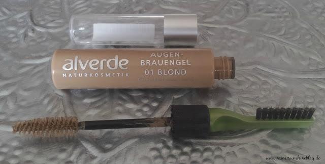 """alverde Augenbrauen-Gel """"01 Blond"""""""