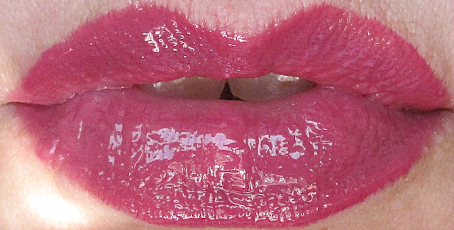 Mirabella Colour Luxe Go Glossy Lip Gloss  Sleek Swatch notesfrommydressingtable.com