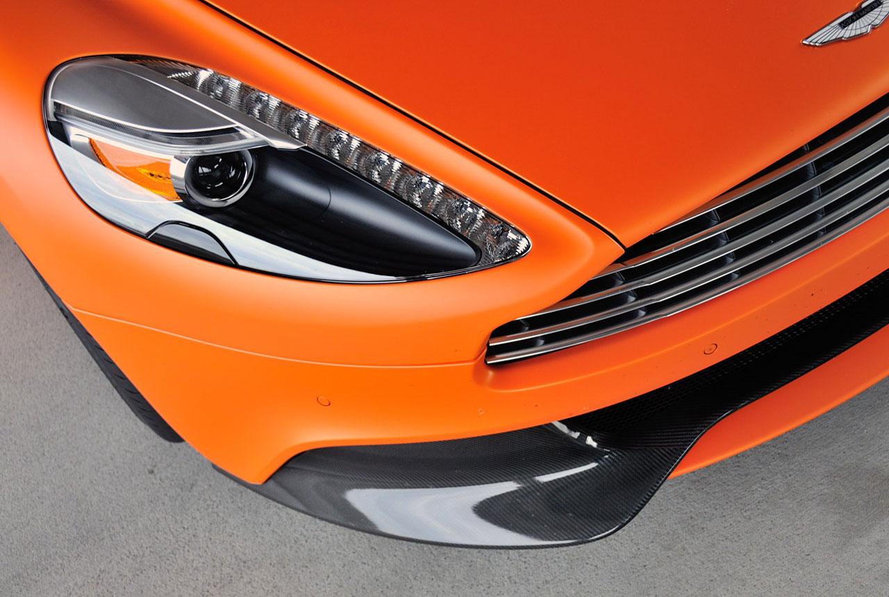 Aston Martin Vanquish Car Top Of Design Trend - Aston martin headlights