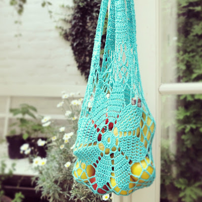 ByHaafner, crochet, market bag, Japanese crochet pattern