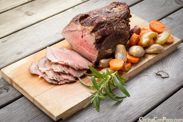 Rosbif o Roast Beef - Receta original, tradicional y autentica