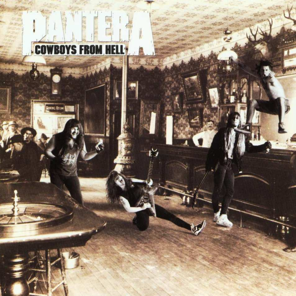 el bicho reactor quotcowboys from hellquot pantera disco