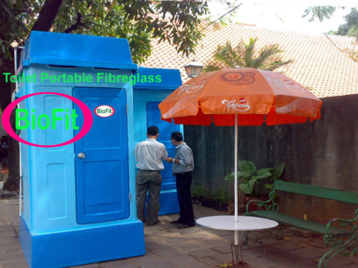 Portable Toilet Exhibition : Pt biofit fibreglass indonesia septic tank