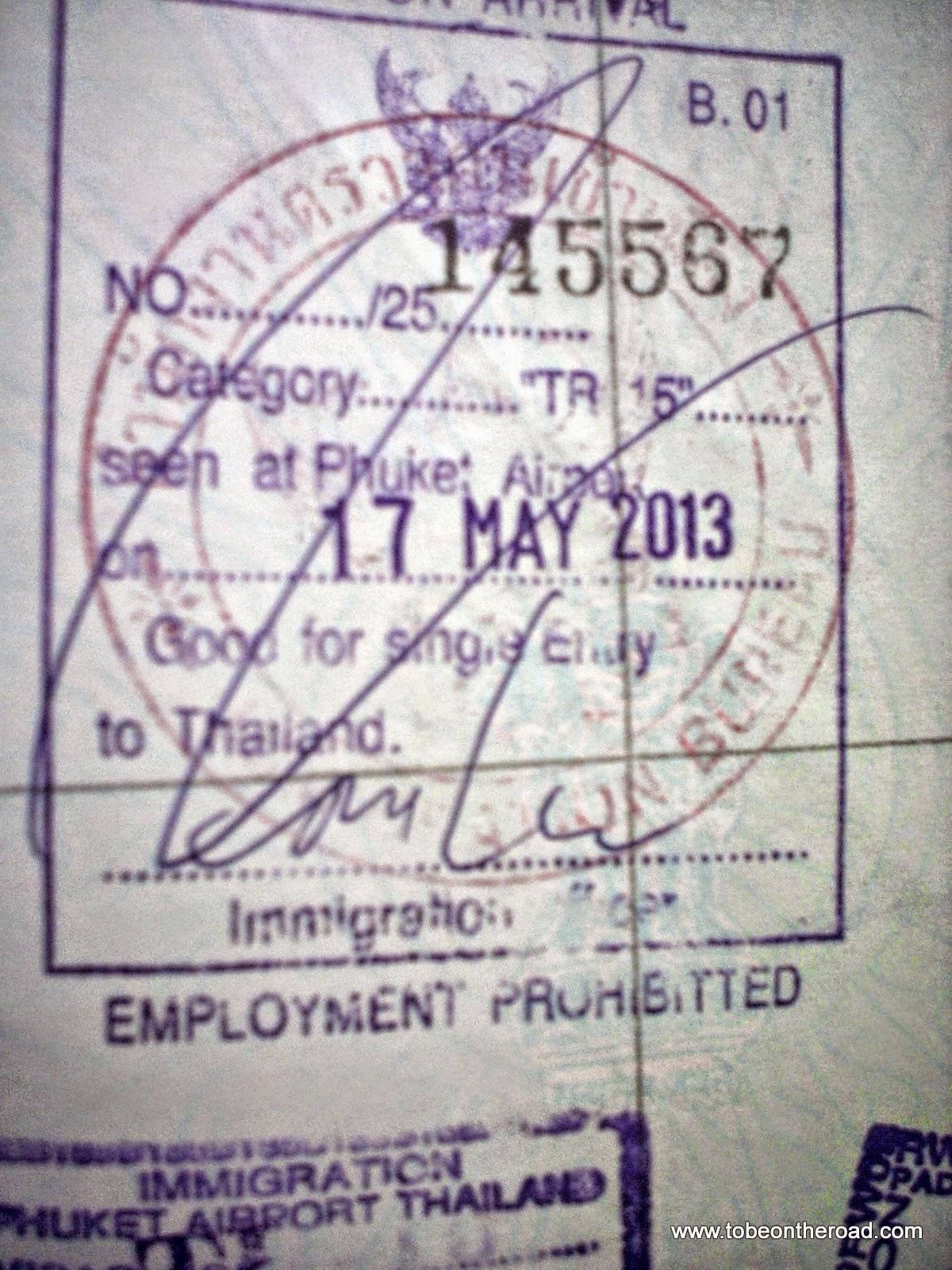 Visa,VOA,Phuket,Thailand,Maya Bay