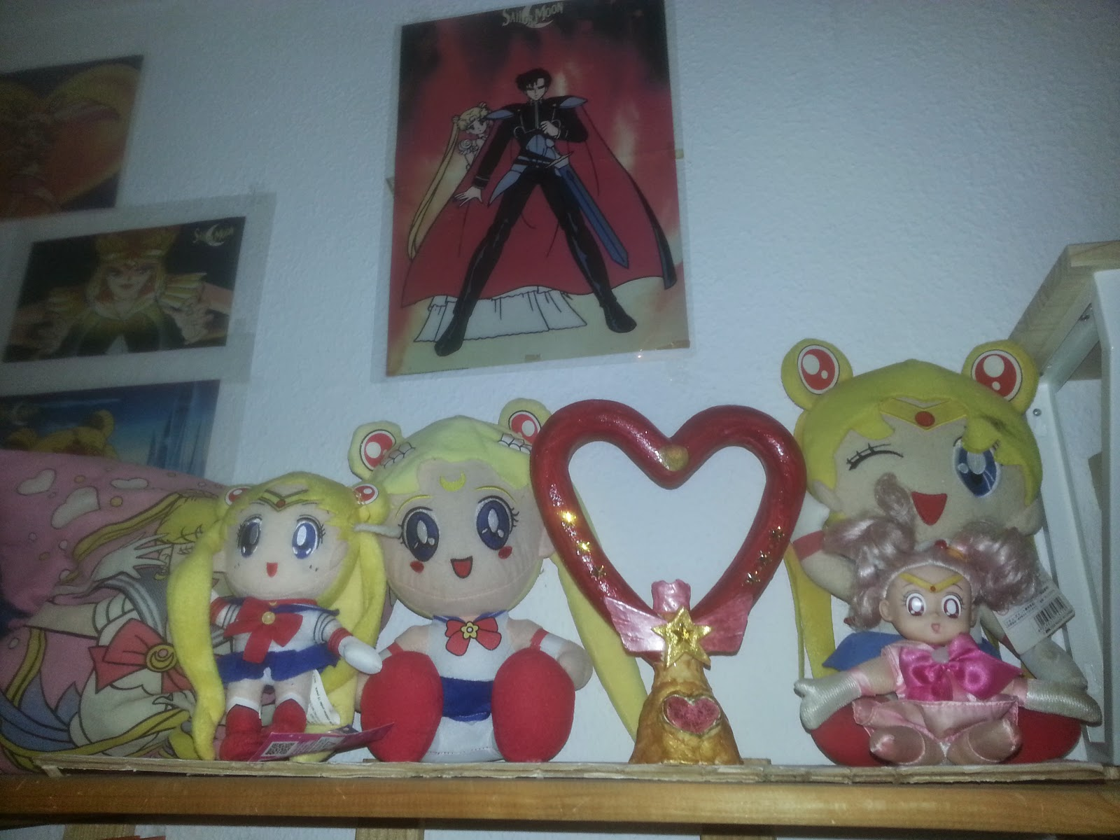 Sailor Moon Plush and Twinkle Yell handmade