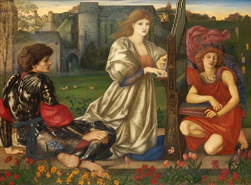 Sir Edward Burne-Jones 1833-1898 | British Pre-Raphaelite painter