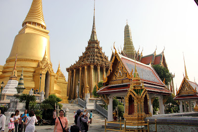 O Grand Palace em Bangkok Royal Palace